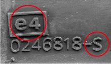 Σήμανση ελαστικών - σήμανση e