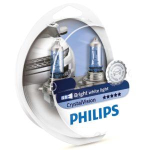 ΛΑΜΠΕΣ PHILIPS H11 CRYSTALVISION 4300K