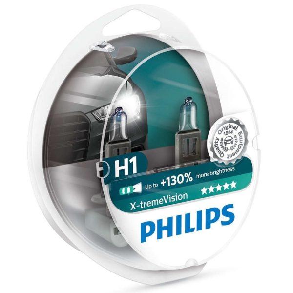 ΛΑΜΠΕΣ PHILIPS H1 X-TREME VISION 3700K +130%