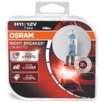 ΛΑΜΠΕΣ OSRAM H11 NIGHT BREAKER UNLIMITED 3900K +110% 1
