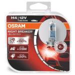ΛΑΜΠΕΣ OSRAM H4 NIGHT BREAKER UNLIMITED 3900K +110% 1