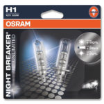 ΛΑΜΠΕΣ OSRAM H1 NIGHT BREAKER UNLIMITED 3900K +110% 1