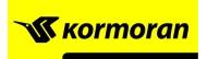 KORMORAN logo - Ελαστικά Καλογρίτσας